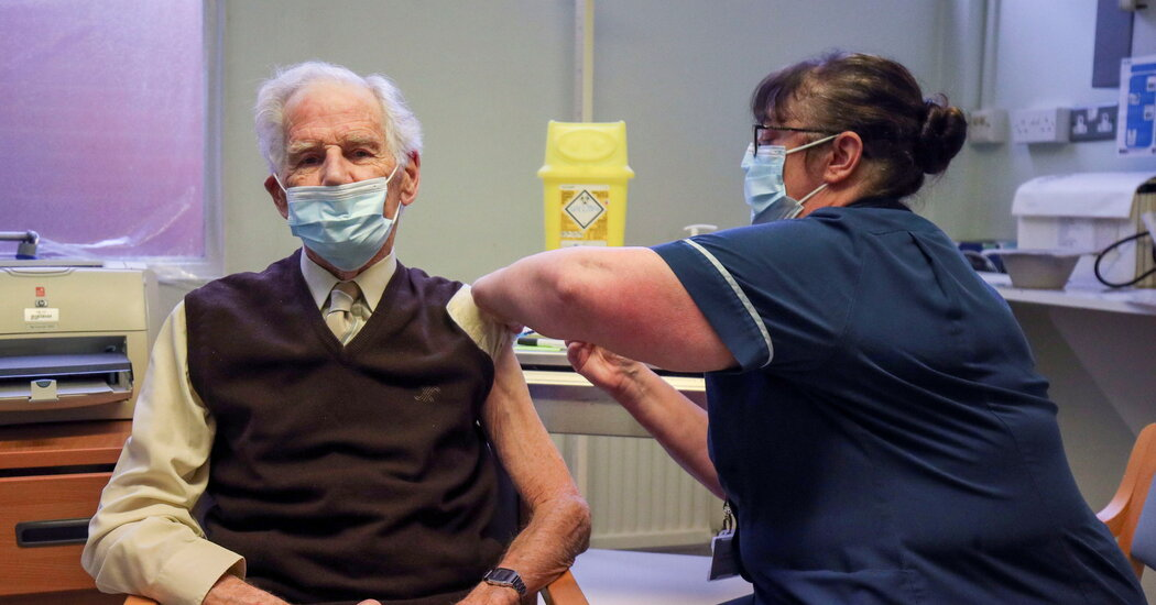 The next vaccine challenge is to reassure older Americans.