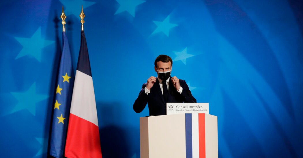 Macron, Once a Darling of Liberals, Shows a New Face as Elections Near