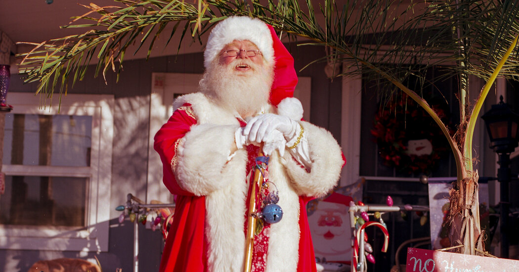 All Santa Wants for Christmas Is to Stay Out of Politics