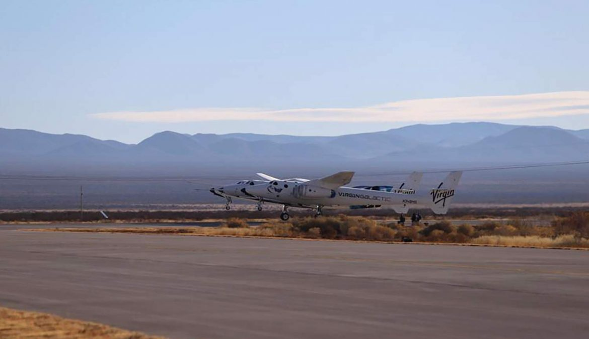 Rocket motor fails to ignite on Virgin Galactic test flight