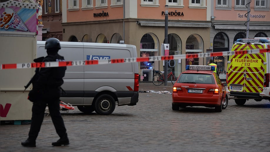 Car in Germany plows into pedestrians, kills at least 2