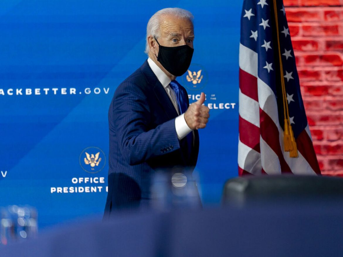 Biden to call for 100 days of mask-wearing to curb COVID-19 spread