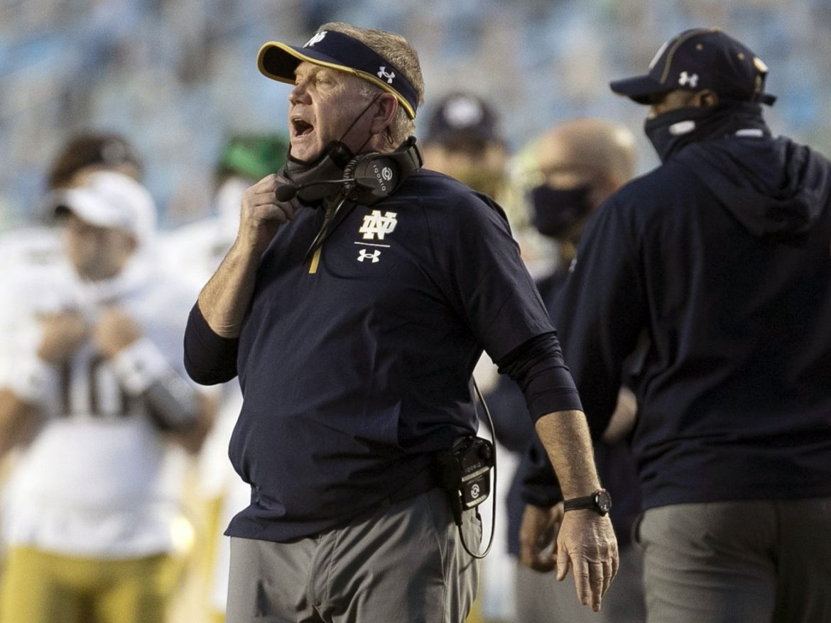 Notre Dame looks to keep it on the ground against Alabama