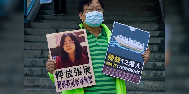 Citizen journalist in China who reported on COVID-19 sentenced to 4 years