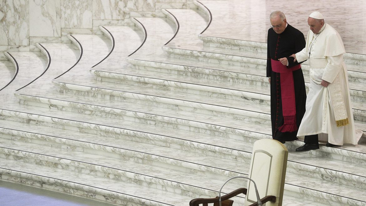 Pope Francis to skip New Year's Eve ceremonies due to back pain