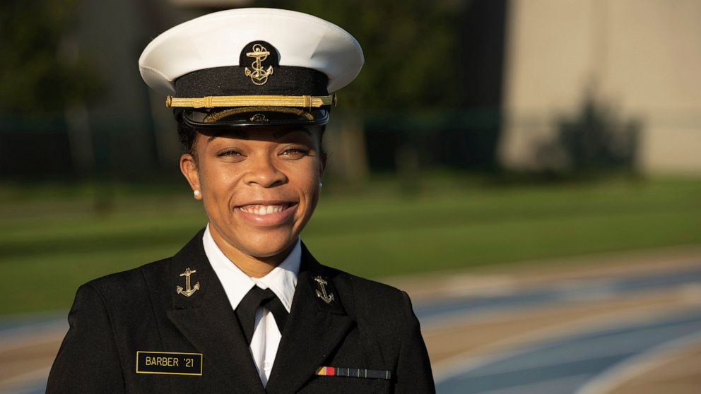 Correction: Naval Academy-Historic Student story