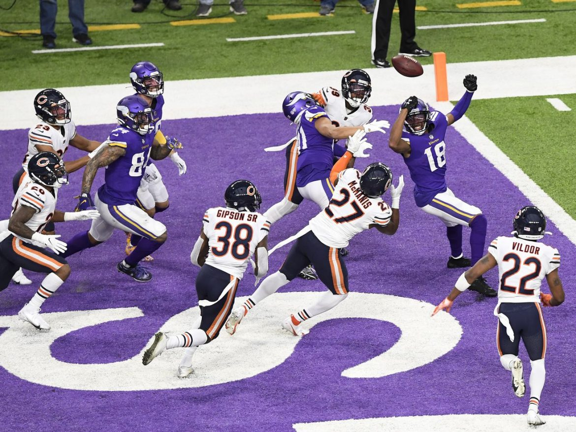 Bears look shaky as could be in win over Vikings, but at least they're interesting