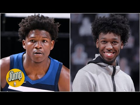 Who's had the more impressive NBA rookie start: Anthony Edwards or James Wiseman?   The Jump