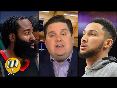 The 76ers are 'farther away' from a James Harden trade than 2 weeks ago – Brian Windhorst | The Jump