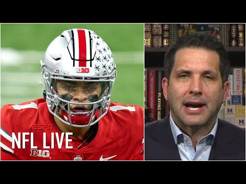 There's a 'distinct possibility' Justin Fields is the third QB drafted – Adam Schefter | NFL Live