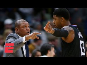 Why is Paul George publicly blaming Doc Rivers now? – Keyshawn Johnson | KJZ