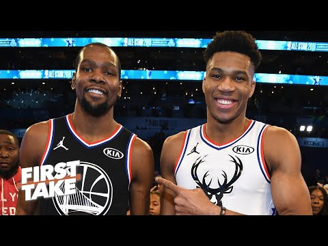 Stephen A. & Max react to Giannis' comments about teaming up with other stars | First Take