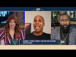 Giannis' 'top player' comments prove he's not ready to be a No. 1 guy – Kendrick Perkins | The Jump