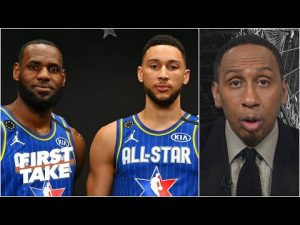 Ben Simmons is 'a jumpshot away from being LeBron James part 2' – Stephen A. | First Take