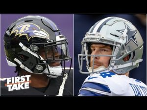 NFL Week 13: Previewing Cowboys vs. Ravens | First Take