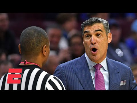 Jay Wright on why refs worried coaches before the season and Collin Gillespie's leadership | KJZ