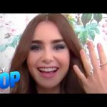 "Lily Collins Spills Wedding Plans, ""Emily in Paris"" & More 