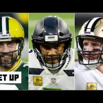 Aaron Rodgers, Russell Wilson or Drew Brees: Which QB is most likely to get his 2nd ring? | Get Up