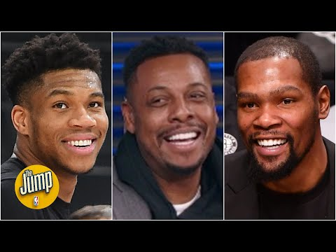 Paul Pierce is intrigued to see a Kevin Durant vs. Giannis matchup | The Jump