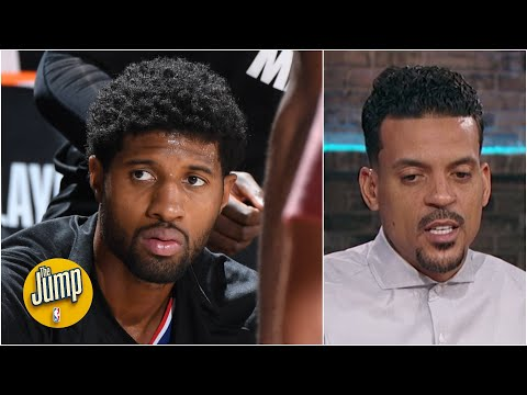 Matt Barnes after Paul George's 'All the Smoke' appearance: 'He's in his head right now' | The Jump