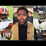 Ryan Clark is fired up to see Nick Chubb and Derrick Henry in the same game | NFL Live