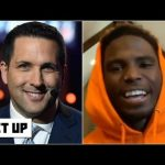 Tyreek Hill challenges Adam Schefter to a race — and he's even giving Schefty a head start | Get Up