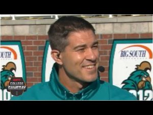 Jamey Chadwell on how Coastal Carolina has prepared to face the BYU Cougars | College GameDay