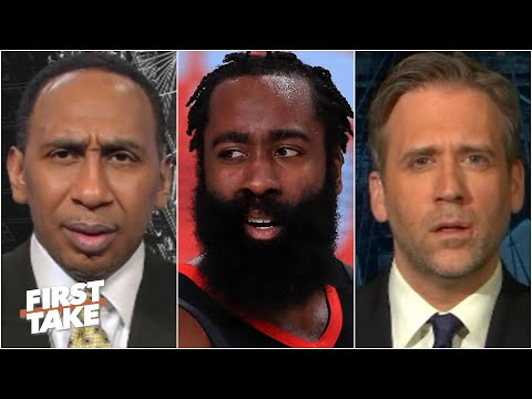 Stephen A. & Max react to James Harden's absence from Rockets' training camp   First Take