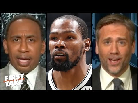 Max calls out Stephen A. for putting pressure on Kevin Durant | First Take