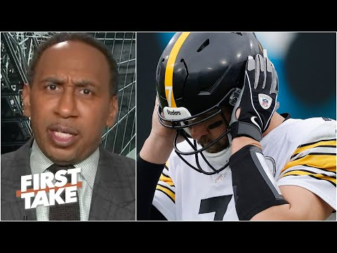 The Steelers can't win a playoff game without running the football! – Stephen A. | First Take