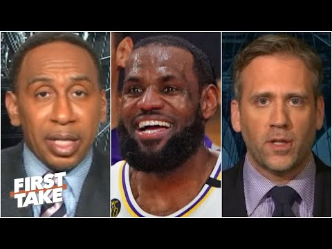 First Take debates how much pressure is on the Lakers to repeat