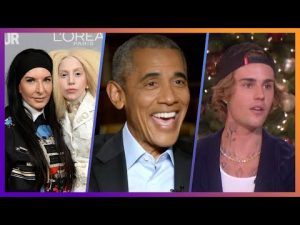 Gaga Tree Hugging, Obama's UFOs & Bieber's Ice Emergency
