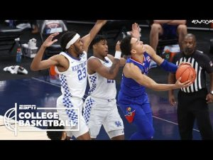 Kansas Jayhawks vs. Kentucky Wildcats [HIGHLIGHTS] | ESPN College Basketball