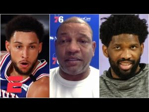 Doc Rivers calls Ben Simmons & Joel Embiid 'brilliantly smart,' explains his plans with the 76ers