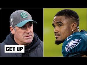 Why doesn't Doug Pederson put Jalen Hurts on the field more? | Get Up
