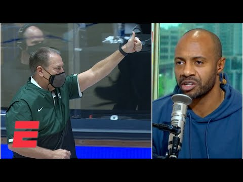 Reacting to Duke losing at home vs. Michigan State in college basketball   KJZ