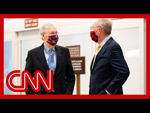 Sen. McConnell chokes up during emotional tribute to Sen. Alexander