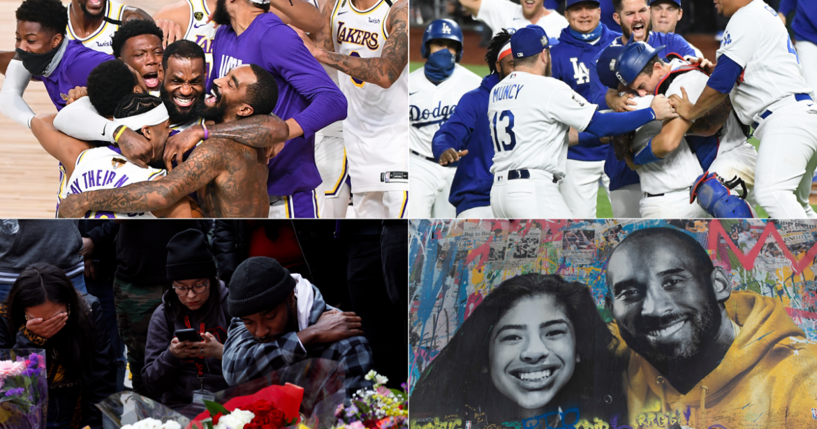 Sports year in review: 2020 was a year of unbridled joy and incomprehensible sorrow