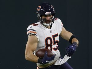 Snap judgment: TE Cole Kmet overtakes Jimmy Graham in Packers game