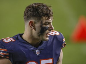 Bears are fine at tight end—if rookie TE Cole Kmet is on his way to stardom