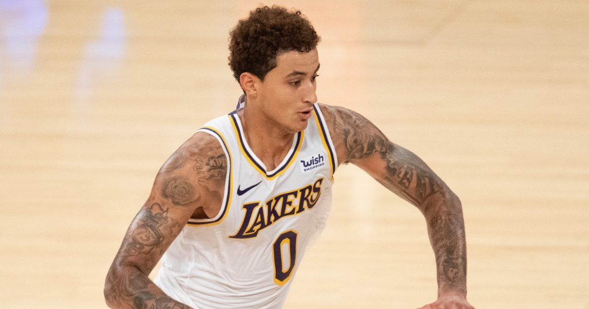 Kyle Kuzma signs three-year contract extension with Lakers