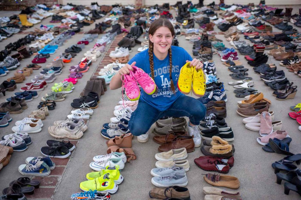 Pandemic-Era Heroes: Teen founded a charity with sole(s) to help the homeless