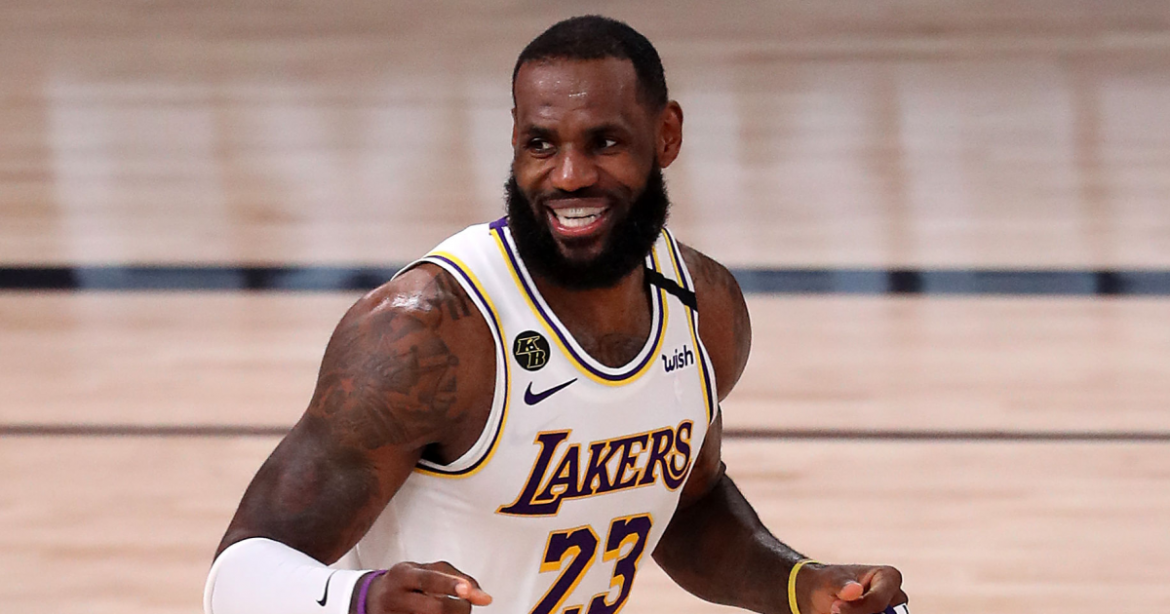 LeBron James is AP's male athlete of the year for record-tying fourth time