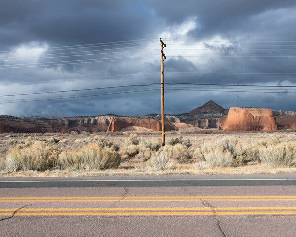 Scenes From Gallup, N.M., Where the Coronavirus Has Hit Hard
