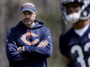 On a losing streak, Matt Nagy can't afford one more