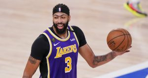 Anthony Davis on Lakers' five-year deal: Best to lock it in