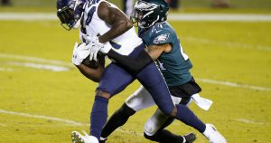 NFL: DK Metcalf, Russell Wilson lead Seahawks over Eagles