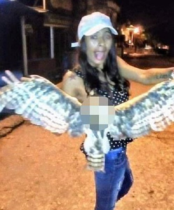 Notorious woman who beheaded owl on social media is gunned down in apparent assassination
