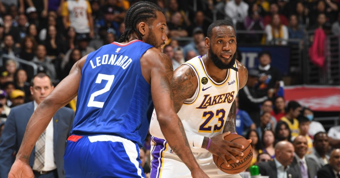 Lakers to play Clippers in Dec. 22 season opener