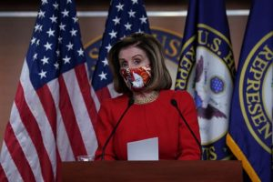 Pelosi Sees Stimulus Momentum; Republicans Grouse on State Aid